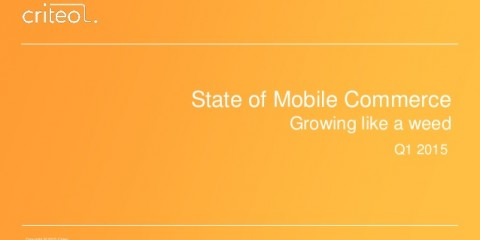 Statistiche mobile commerce 2015